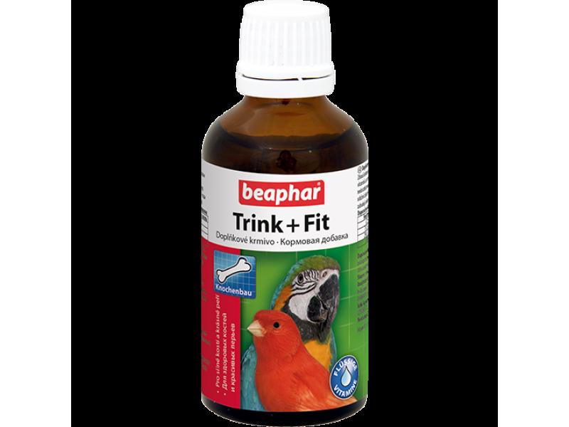 Beaphar Витамины для птиц (Trink+ Fit Birds), 50 мл  - Фото