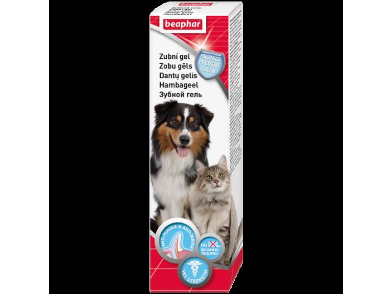 Beaphar Гель для чистки зубов, для кошек и собак (Tooth 41504), 100 гр - Фото