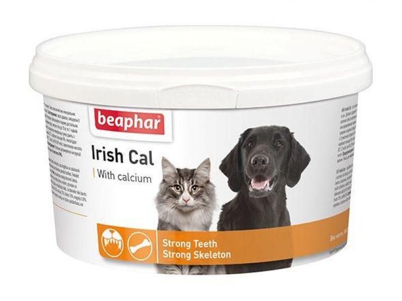 Beaphar Минеральная смесь с КАЛЬЦИЕМ, для собак и кошек (Irish Cal), 250 гр - Фото