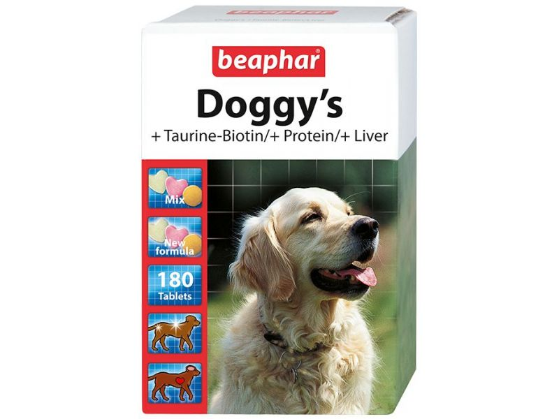 КОМПЛЕКС витаминов Beaphar для собак (Doggy's Mix), 180 шт. - Фото