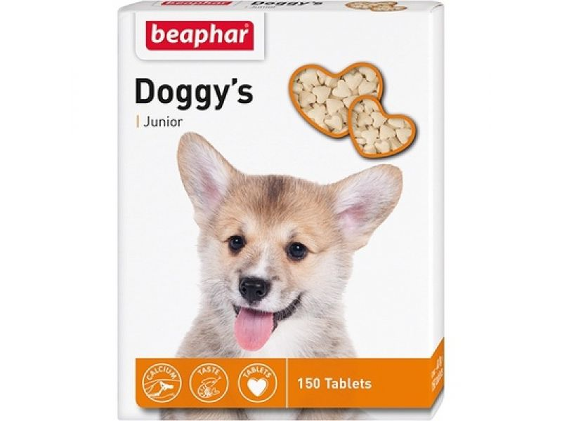 Витамины Beaphar для ЩЕНКОВ (Doggy`s Junior), 150 шт. - Фото