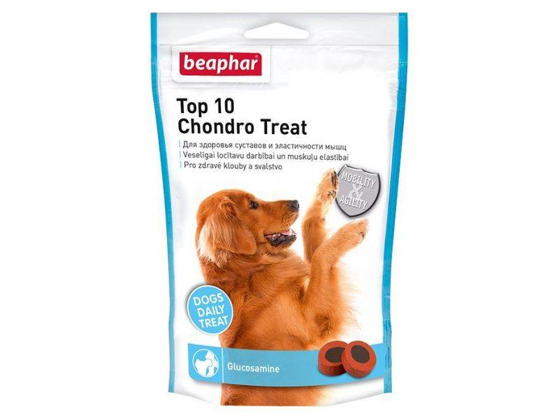Beaphar Витамины для суставов c глюкозамином для собак (Top-10 Chondro Treat), 75 шт. - Фото