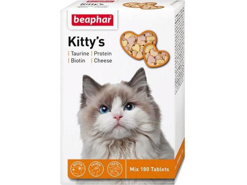 Beaphar Комплекс витаминов для кошек (Kitty's Mix) - Фото