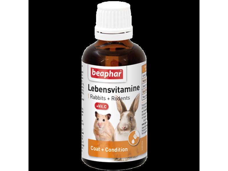 Beaphar Витамины для грызунов (Lebensvitamine), 50 мл - Фото