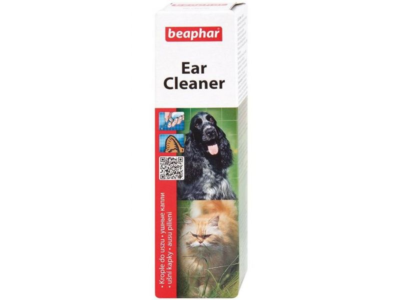 Beaphar Лосьон для ухода за ушами у кошек и собак (Ear-Cleaner), 50 мл - Фото