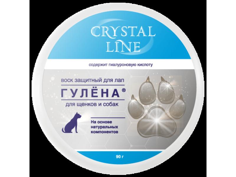 "Апи-Сан (Apicenna) Crystal line Защитный воск для лап собак ""Гулена"", 90 гр - Фото"