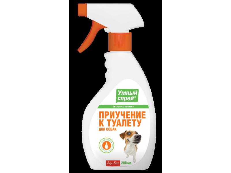 Апи-Сан (Apicenna) Спрей для собак: Приучение к туалету, 200 мл   - Фото