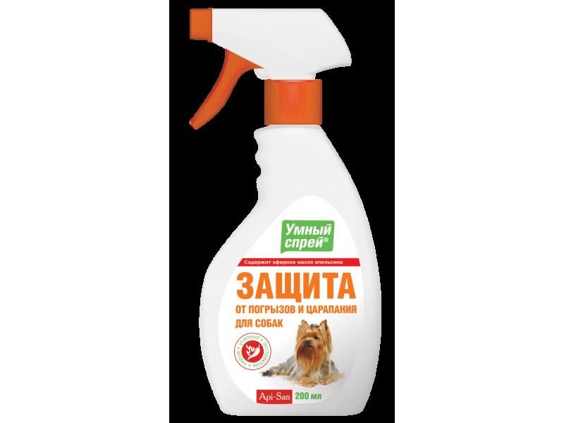 Апи-Сан (Apicenna) Спрей для собак: Защита от погрызов и царапин, 200 мл   - Фото