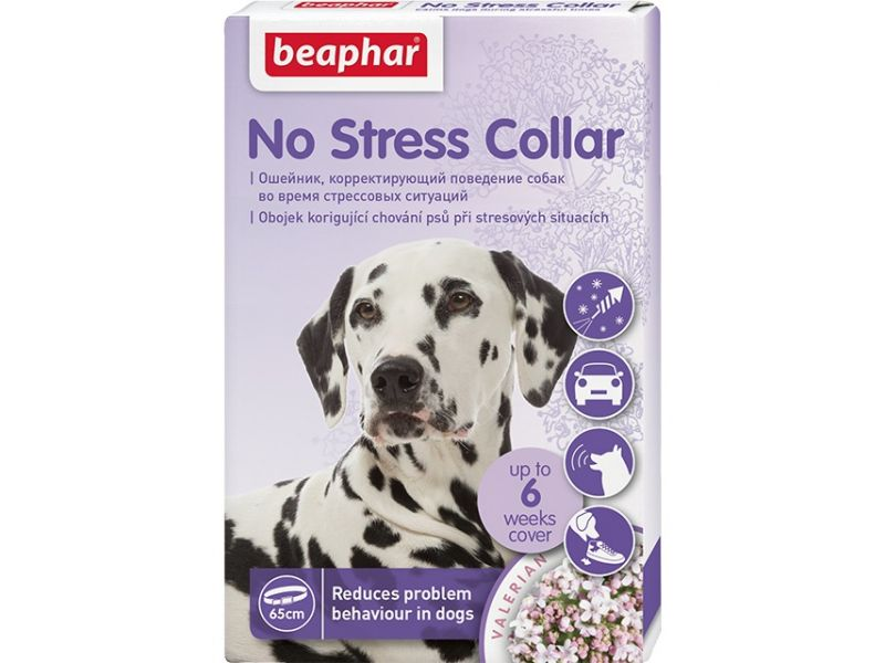 Beaphar Успокаивающий ошейник для собак (No Stress Collar), 65 см - Фото