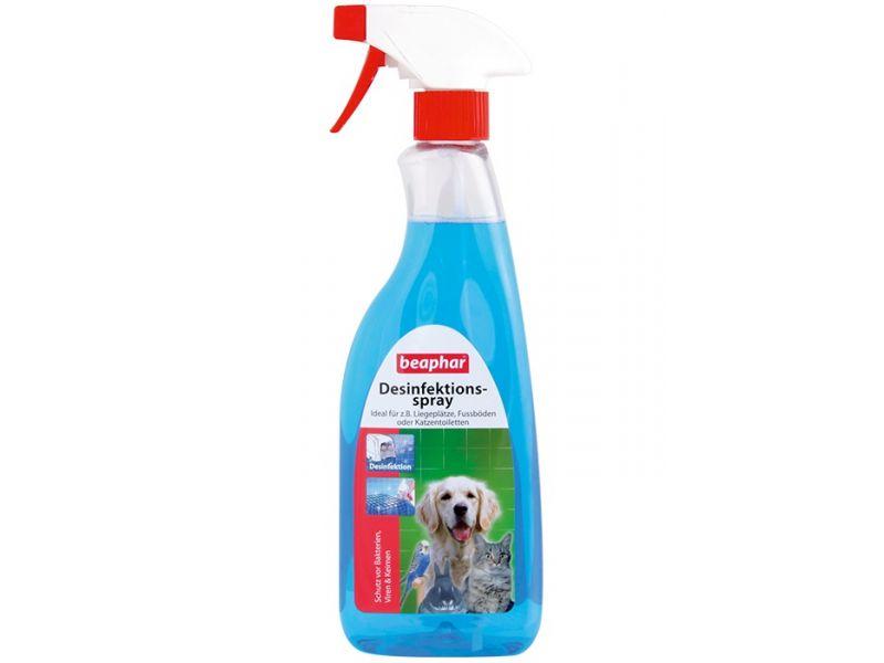 Beaphar Спрей для дезинфекции среды обитания животных (Desinfections-spray), 500 мл - Фото