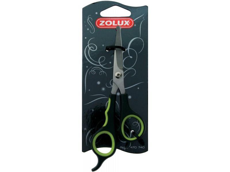 Triol Zolux Ножницы для окончательной обработки шерсти с безопасными кончиками, 15,5 см. - Фото