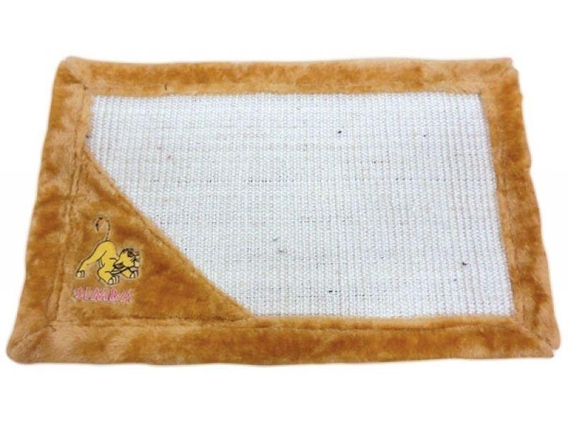 """Triol Когтеточка-коврик """"Simba"""" на пол, для кошек, сизаль, 55*35 см - Фото"""
