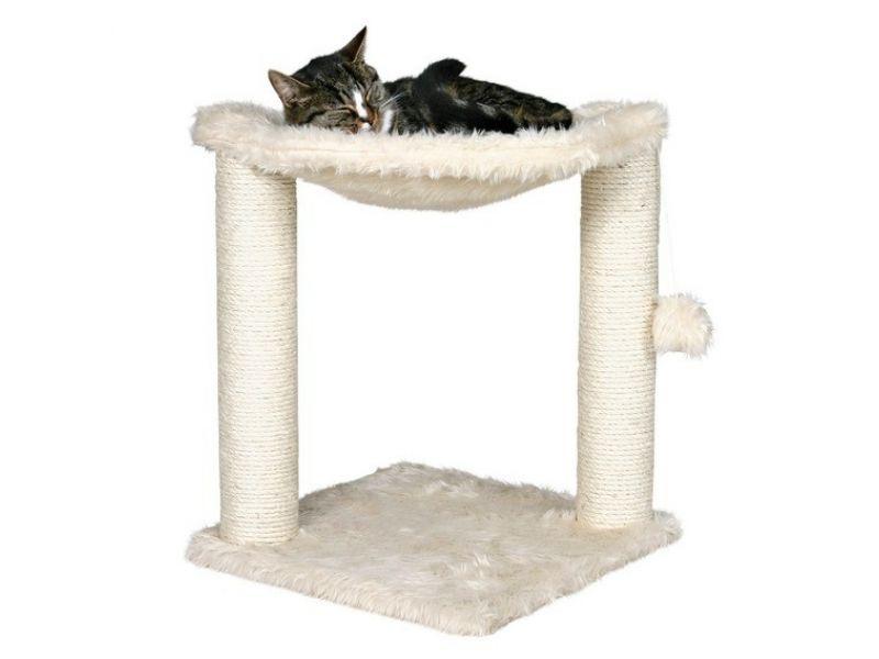 """Trixie Когтеточка с гамаком-лежанкой для кошек """"Baza"""" (44541), 41*41*50 см   - Фото"""