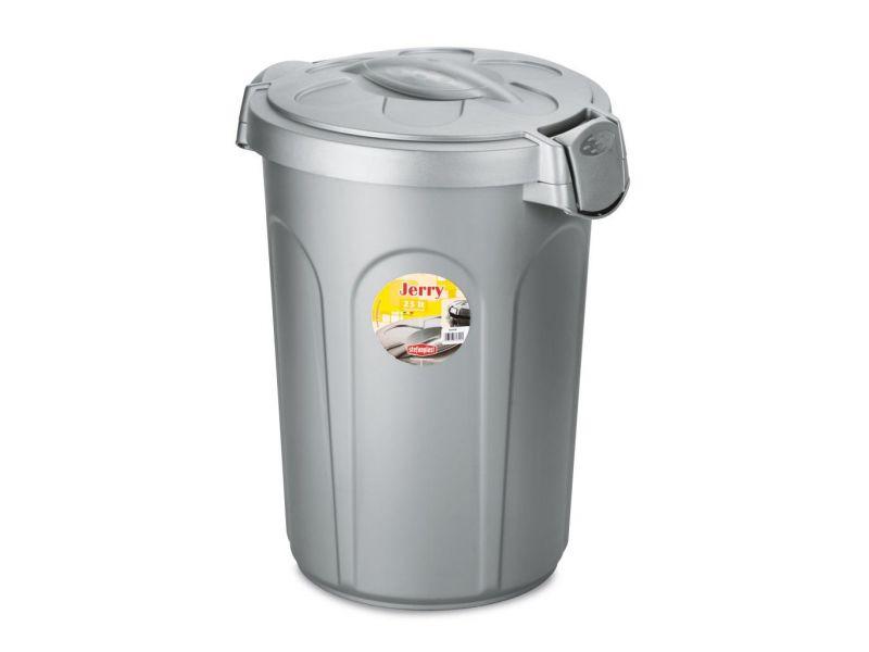 """Stefanplast Контейнер для хранения сухого корма """"Jerry"""", пластмасса, 23 л, 37*32*46 см  - Фото"""