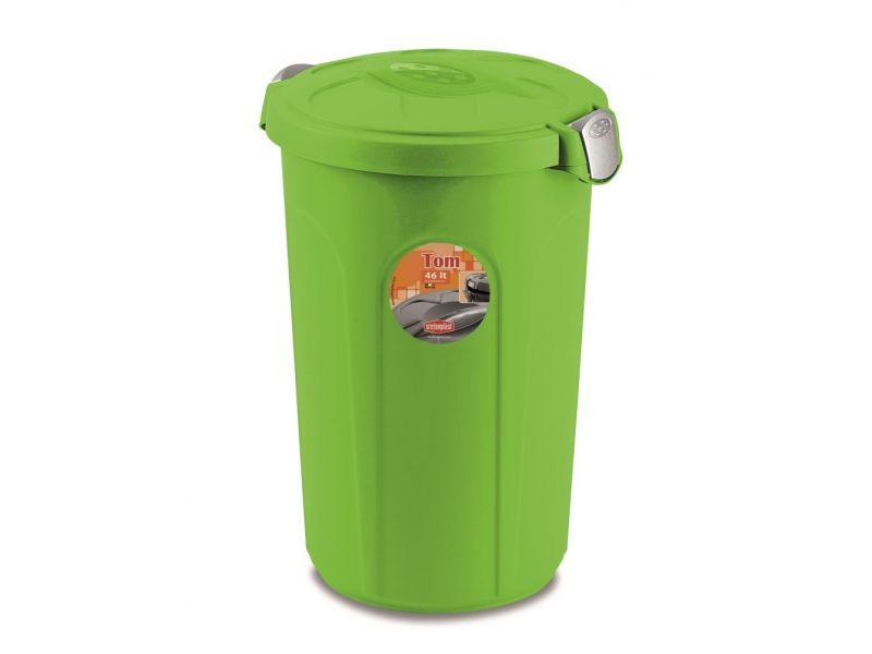 """Stefanplast Контейнер для хранения сухого корма """"Tom"""", пластмасса, 46 л, 44,5*40*61 см - Фото"""