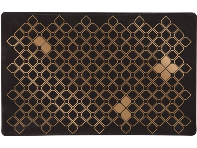 Trixie Коврик под миску для собак, коричнево-бронзовый (24479), 44*28 см  - Фото