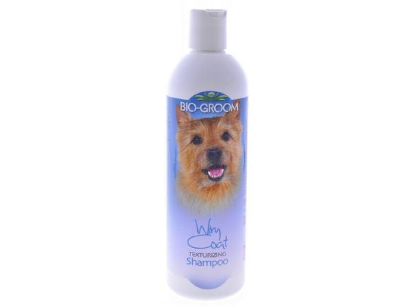 BioGroom Шампунь для ЖЕСТКОЙ ШЕРСТИ 1 к 4, для собак и кошек  (Wiry Coat Shampoo), 355 мл  - Фото