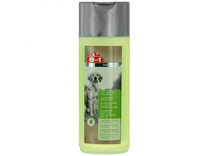 Шампунь 8 in 1 с маслом чайного дерева для собак (Tea Tree Oil Shampoo), 250 мл - Фото