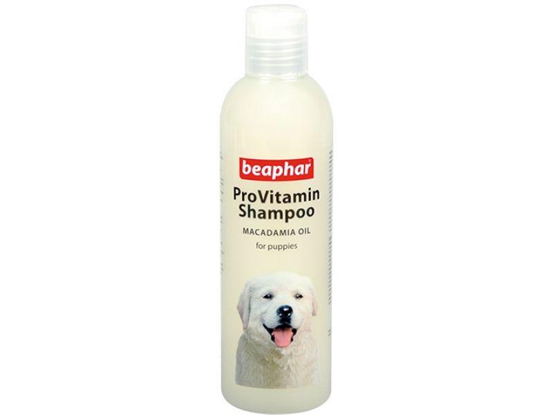 """Beaphar Шампунь """"Pro Vitamin"""" с маслом австралийского ореха, для ЩЕНКОВ (Macadamia Oil), 250 мл - Фото"""