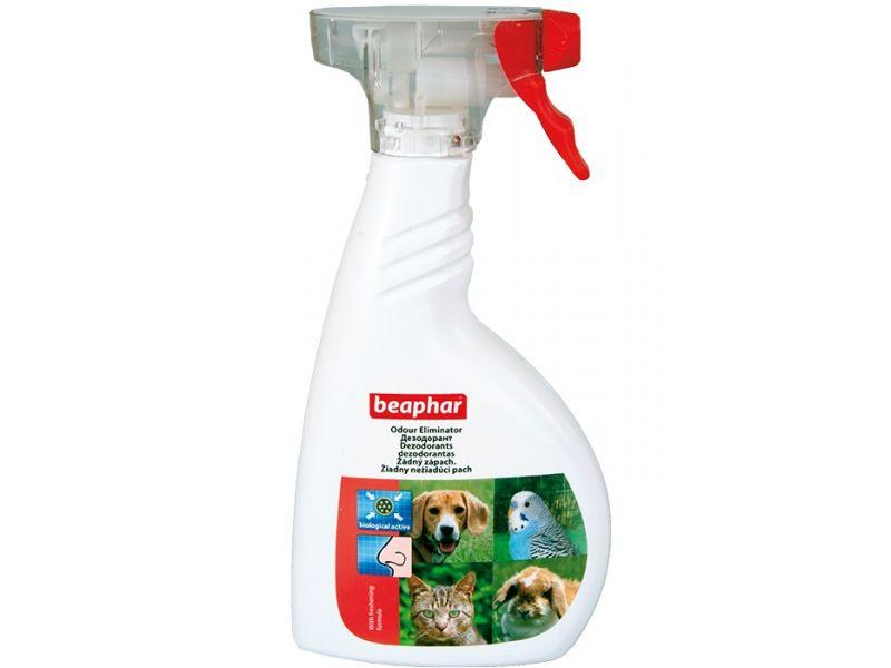 Beaphar Спрей - Уничтожитель запаха, вызванного животными в помещении (Odour killer), 400 мл   - Фото