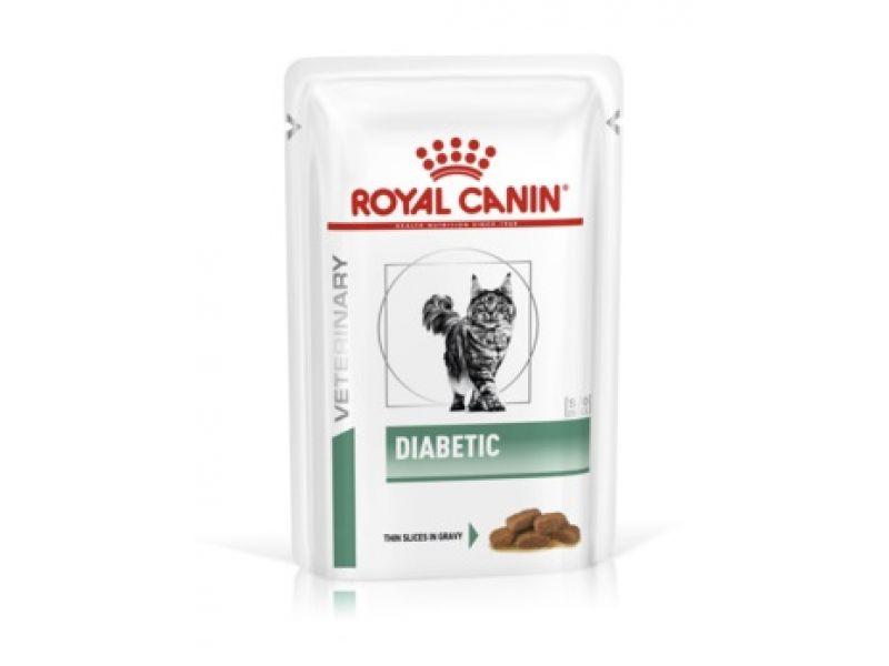 Royal Canin Паучи при диабете, для кошек (Diabetic S/O), 85 гр - Фото