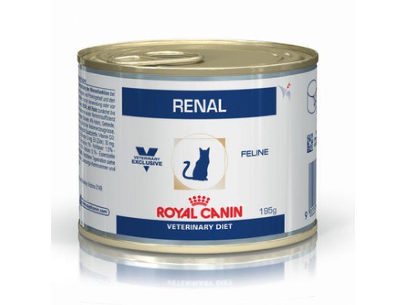 Royal Canin Консервы при хронической почечной недостаточности, для кошек (Renal), 195 гр - Фото