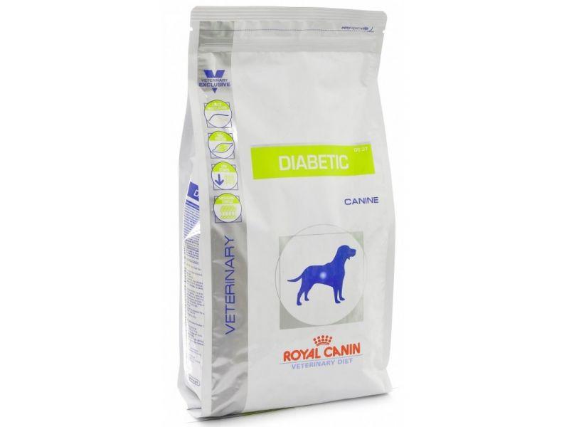 Сухой веткорм Royal Canin для собак при сахарном диабете (Diabetic DS37) - Фото