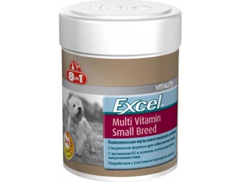 Мультивитамины 8 в 1 для собак МАЛЫХ пород (Excel Small breed Multi Vitamin), 70 шт. - Фото