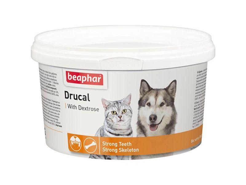 Beaphar Минеральная смесь для УКРЕПЛЕНИЯ СКЕЛЕТА и МЫШЦ собак и кошек (Drucal), 500 гр - Фото