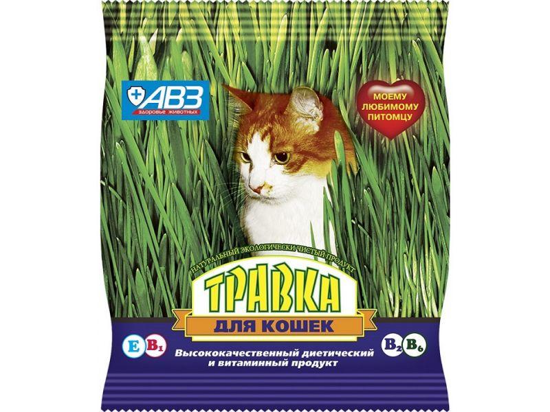 Агроветзащита  Травка для кошек (пакет), 30 гр - Фото