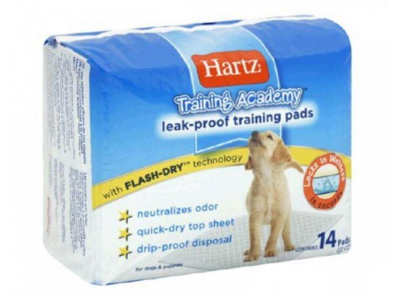 Hartz Впитывающие пеленки для животных (Training pads), 56*56 см - Фото