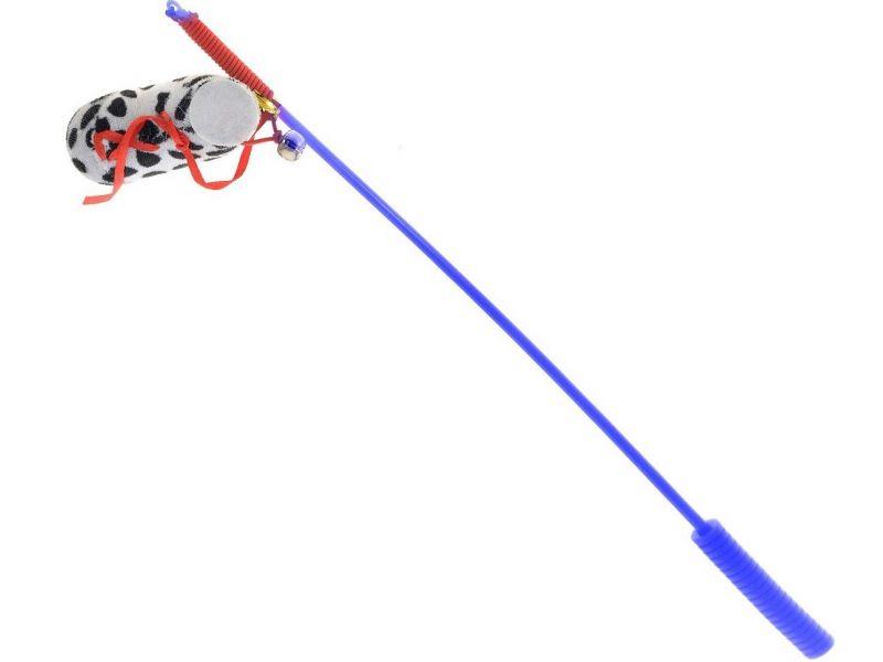 """PetLine Удочка-дразнилка """"Ботинок"""" для кошек, 37 см - Фото"""