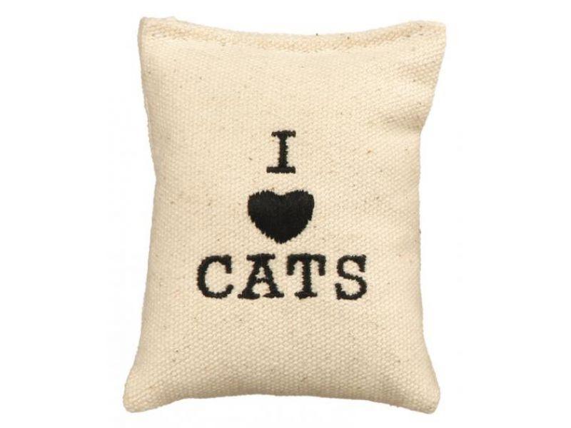 """Игрушка Trixie для кошек - """"Мешочек"""" с ароматом кошачьей мяты (4114), 9 см, 1 шт. - Фото"""
