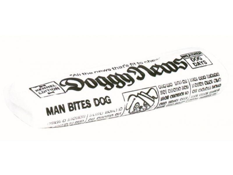 """Trixie Игрушка """"Газета"""" с пищалкой, для собак, винил (3468), 16 см - Фото"""