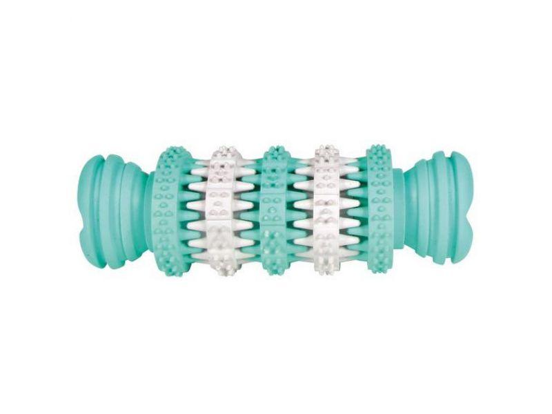 """Trixie Игрушка-кость с мятным вкусом """"Dental Fan"""", для собак, резина (32944), 15 см - Фото"""