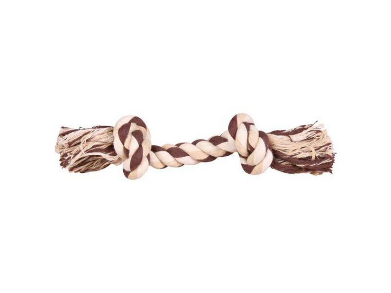 Trixie Веревка с узлом цветная, для собак (32651), 75 г/22 см   - Фото