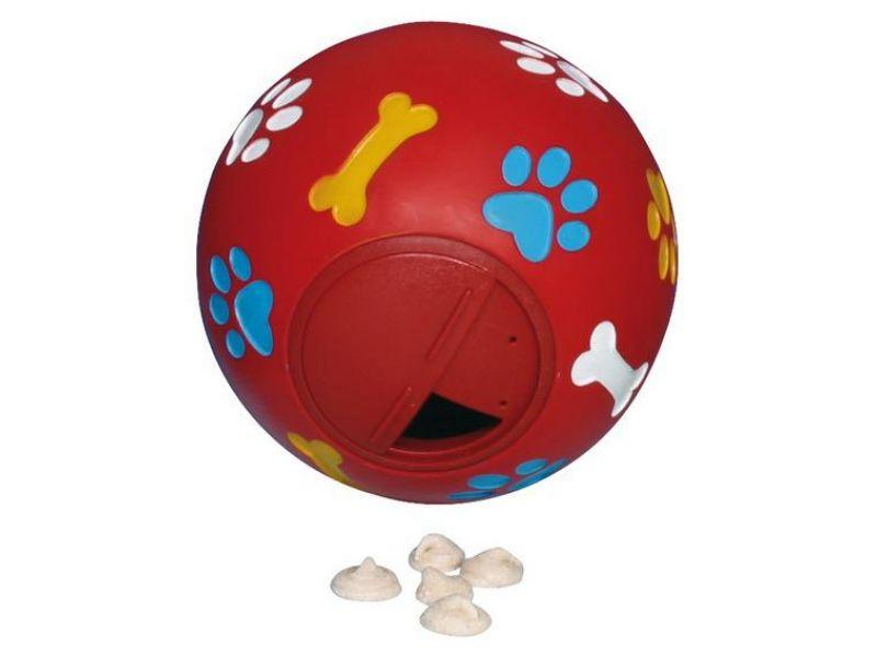 Trixie Мяч с отверстием для лакомств, для собак, винил (3492), 7 см - Фото