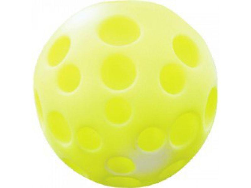 """Зооник """"Мяч-луна средняя"""" для собак, винил, 9,5 см - Фото"""