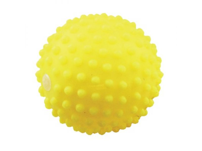 """Зооник """"Мяч игольчатый №3"""" для собак, винил, 8 см - Фото"""