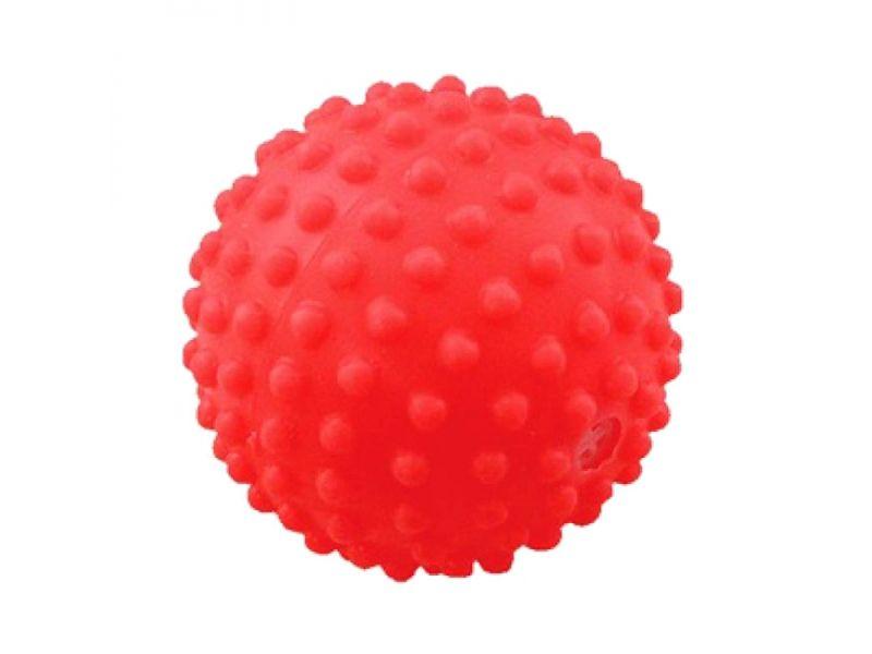 """Зооник  """"Мяч игольчатый №2"""" для животных, винил, 6,5 см - Фото"""