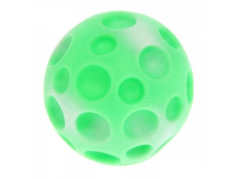 """Зооник """"Мяч-луна малая"""" для собак, винил, 7,5 см - Фото"""