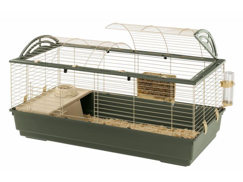 Ferplast Клетка CASITA 120 (цветная),  для кроликов и морских свинок (57067170), 119*58*61 см   - Фото