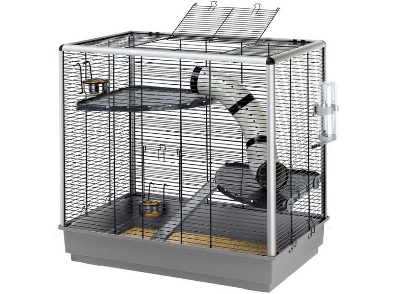 Ferplast Клетка JENNY для мелких грызунов, 80*50*79,5 см   - Фото