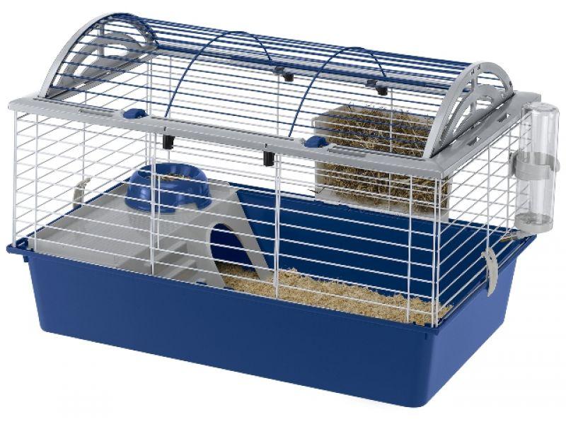 Ferplast Клетка CASITA 100 (цветная) для кроликов и морских свинок (57066170), 96*57*56 см  - Фото