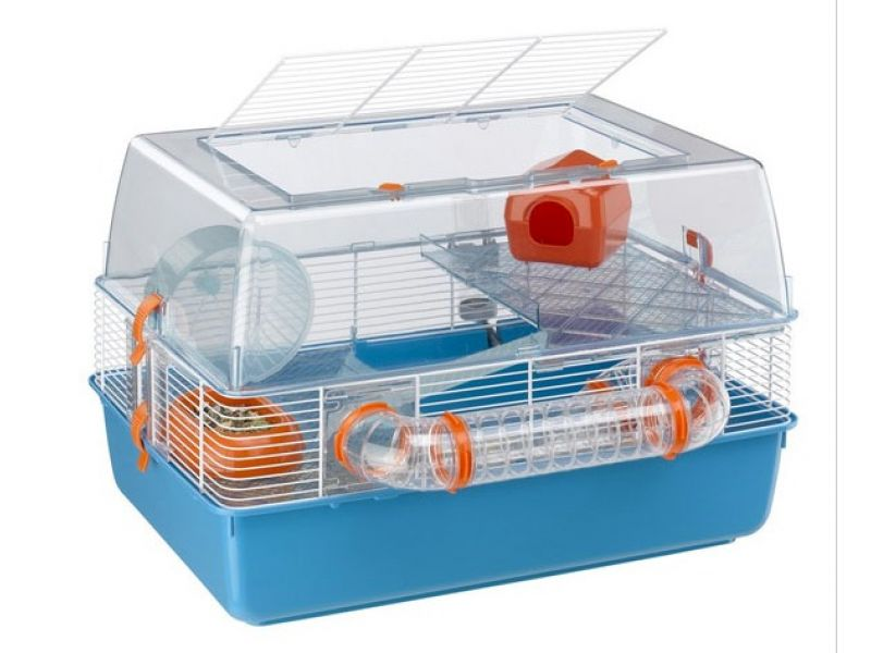 Ferplast Клетка DUNA FUN (оргстекло) для мелких грызунов (57921499), 55*47*37,5 см  - Фото