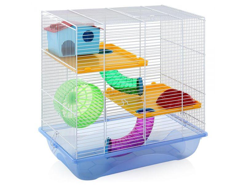 """IMAC Клетка с переходами """"Criceti 7"""" для мелких грызунов, 44*26*47,5 см  - Фото"""