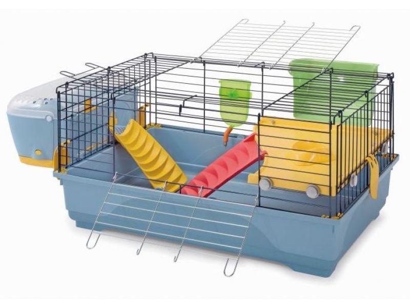 """IMAC Клетка """"Easy Plus 80"""" для кроликов, 80*48,5*42 см    - Фото"""