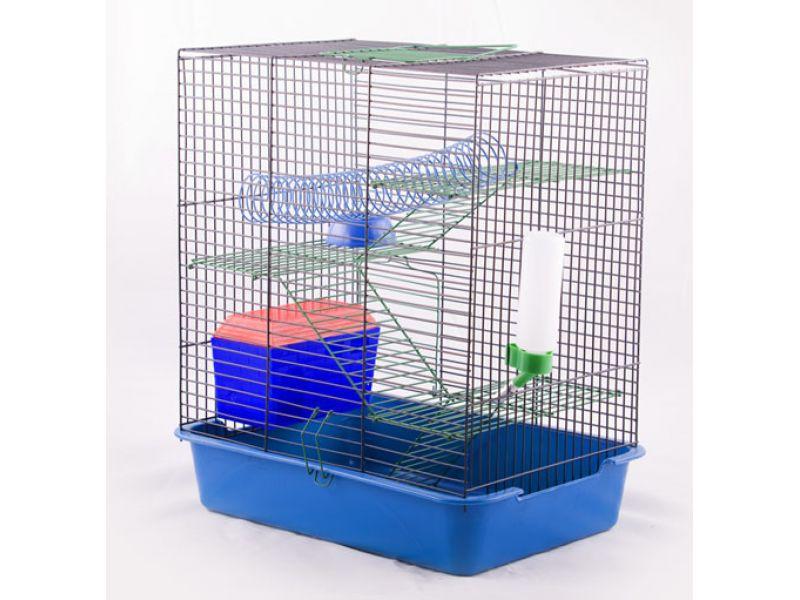 """Вака Клетка для грызунов """"Мечта-2"""", 38,5*27,5*43,5 см   - Фото"""