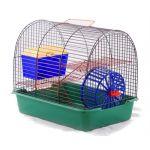 """ТОВАР ДНЯ!!! Вака Клетка для грызунов """"Комфорт-1"""" с домиком, 38,5*27,5*32 см"""