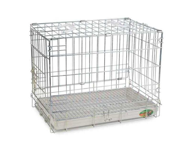 Triol Клетка для животных, пластиковый поддон, 50*32*40 см  - Фото